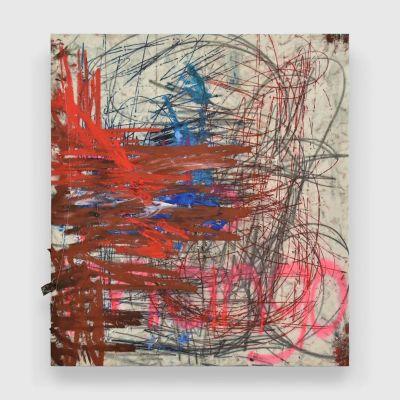 OSCAR MURILLO - éTICA Y ESTéTICA (solo) @ARTLINKART, exhibition poster
