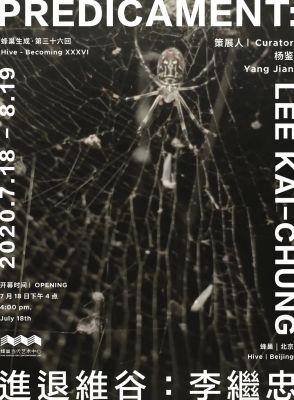PREDICAMENT - LEE KAI CHUNG (solo) @ARTLINKART, exhibition poster