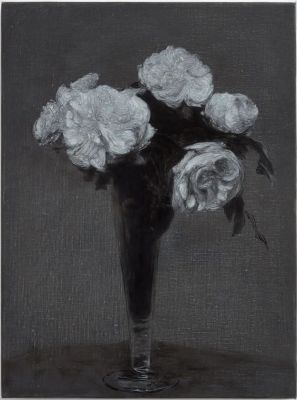 DON BROWN - FLEURS (solo) @ARTLINKART, exhibition poster