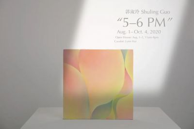 GUO SHULING - 5–6 PM (solo) @ARTLINKART, exhibition poster