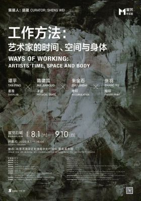 WAYS OF WORKING - ARTISTS' TIME, SPACE AND BODY (group) @ARTLINKART, exhibition poster
