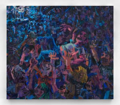 TODD BIENVENU - HALCYON DAYS (solo) @ARTLINKART, exhibition poster
