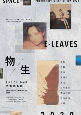 2 0 2 0  E-LEAVES PHOTOGRAPHIC EXHIBITION (group) @ARTLINKART, exhibition poster