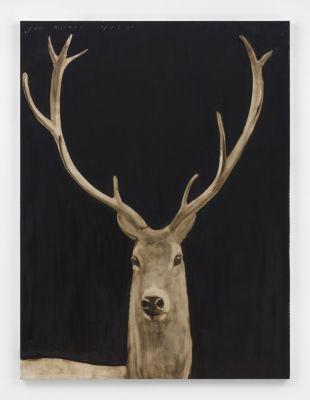JOE ANDOE - ROLLING HILLS (solo) @ARTLINKART, exhibition poster