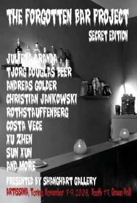 ARTISSIMA - THE FORGOTTEN BAR PROJECT (art fair) @ARTLINKART, exhibition poster