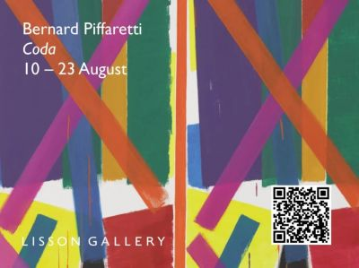 伯纳德·皮法雷蒂 (BERNARD PIFFARETTI) 个展——CODA (个展) @ARTLINKART展览海报