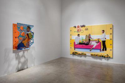 CONRAD EGYIR & PATRICK QUARM - ANANSESEM (个展) @ARTLINKART展览海报