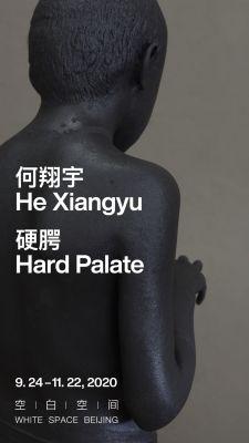 何翔宇——硬腭 (个展) @ARTLINKART展览海报