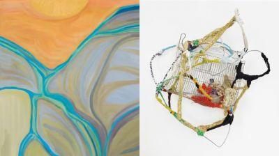 SONIA GOMES / MARINA PEREZ SIMãO (group) @ARTLINKART, exhibition poster