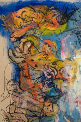 RITA ACKERMANN - MAMA '20 (solo) @ARTLINKART, exhibition poster