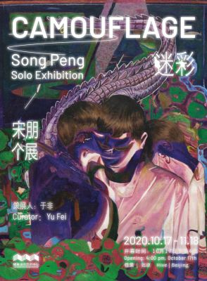 CAMOUFLAGE - SONG PENG SOLO EXHIBITION (solo) @ARTLINKART, exhibition poster