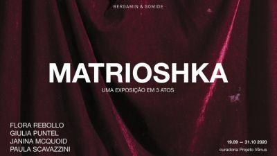 MATRIOSHKA (group) @ARTLINKART, exhibition poster